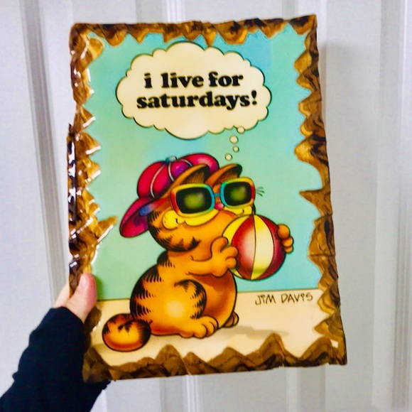 Vintage Other - 🌿Garfield Wall art🌿